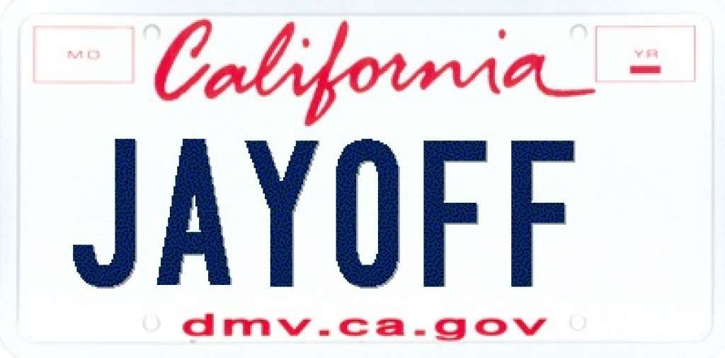 28 License Plates Rejected by the DMV