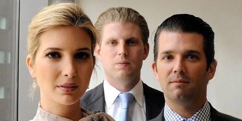 The 9 Best Reactions to That Creepy Photo of Trump's Kids