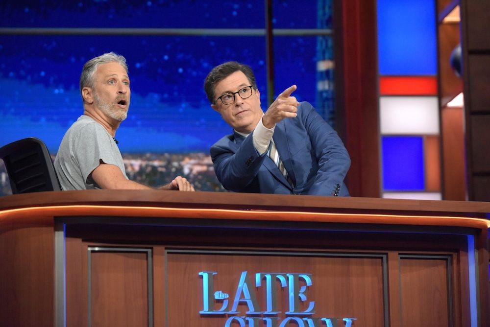 Stephen Colbert\'s Best Moments From The Late Show\'s First Year