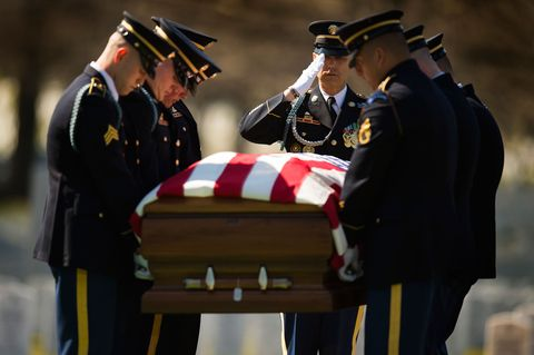 Joe Montgomery Military Funeral - The Things That Carried