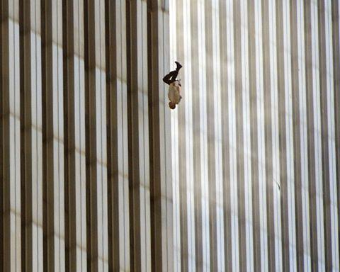 falling man 911 terrorism towers new york