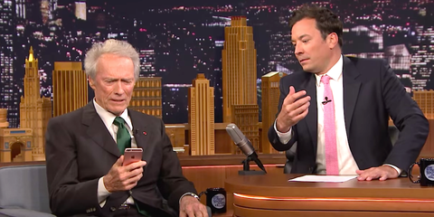 Jimmy Fallon Should Not Have Asked Clint Eastwood to Take a Selfie