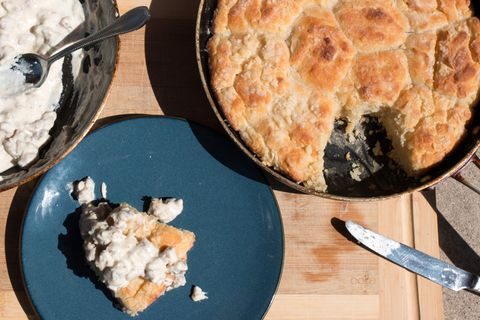 You Won't Find More Decadent Biscuits and Gravy