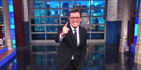 Stephen Colbert Pinpoints the One Thing We Can Learn From This Election