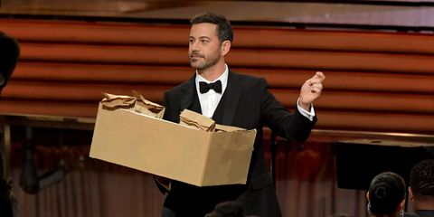The Story Behind Jimmy Kimmel's Sharpest Joke at the Emmys