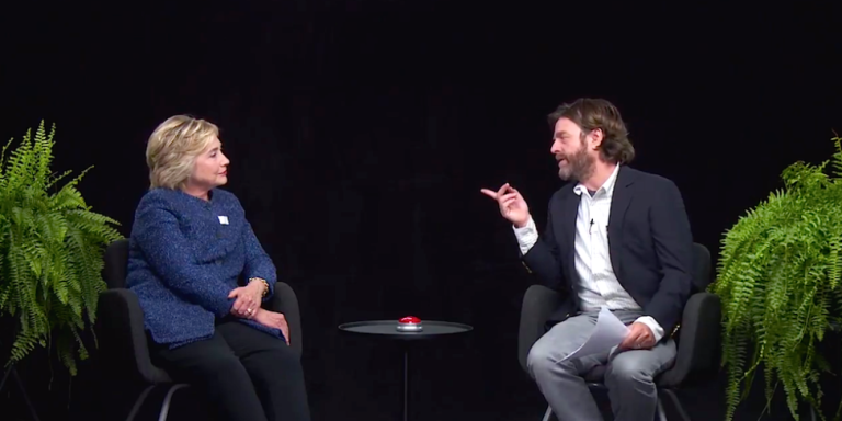Here's What's Really Impressive About Hillary Clinton's Between Two Ferns Appearance