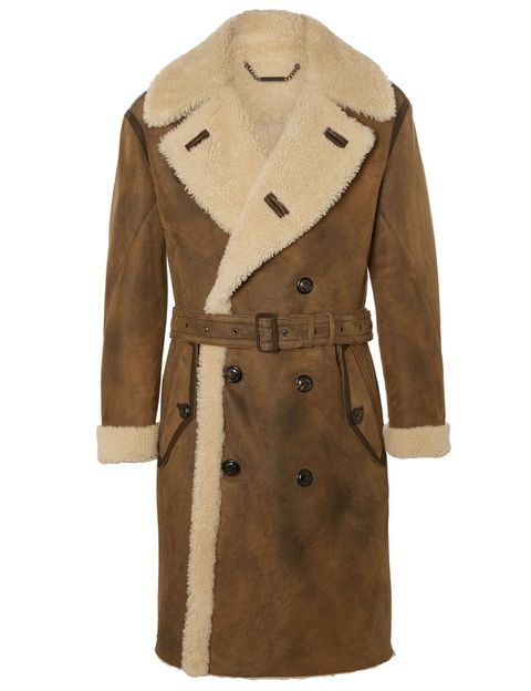 Clothing, Coat, Brown, Sleeve, Collar, Khaki, Textile, Outerwear, Tan, Fashion,