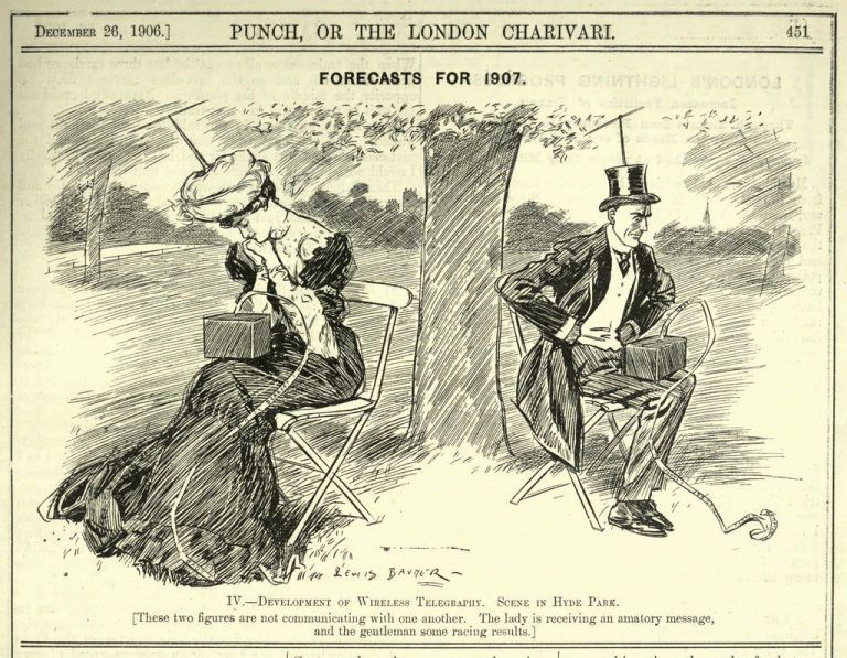 This 1907 Cartoon Proves We've Always Been Worried About Technology Ruining Our Lives