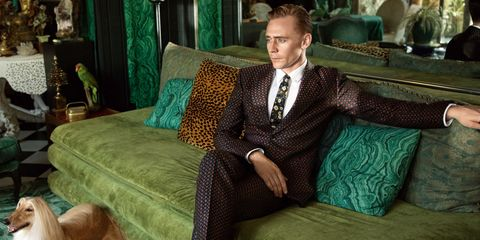 Green, Collar, Room, Dress shirt, Furniture, Suit, Teal, Interior design, Couch, Turquoise,
