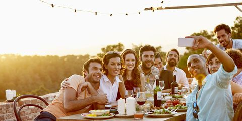 Furniture, Table, Leisure, Sitting, Drink, Summer, Outdoor furniture, Sharing, People in nature, Outdoor table,