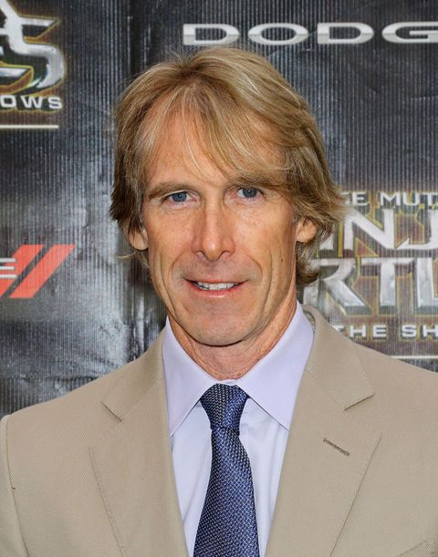Michael Bay at the Teenage Mutant Ninja Turtles: Out Of The Shadows world premiere in May 2016