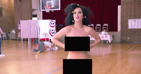 Katy Perry Got Naked to Get You to Vote
