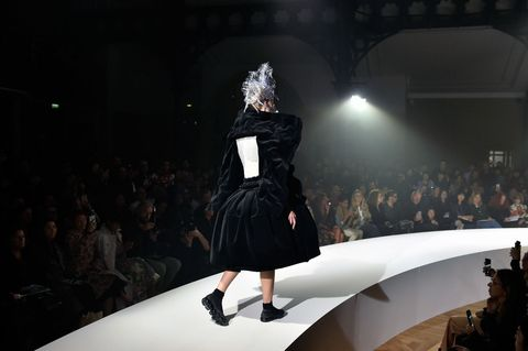 504812b398cf7 Getty Images. Rei Kawakubo just sent her latest vision for Comme des Garçons  ...