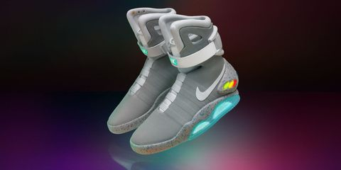 10fc304ac43 Here s How to Finally Get Your Own Back to the Future Self-Lacing Nike Mag  Sneakers