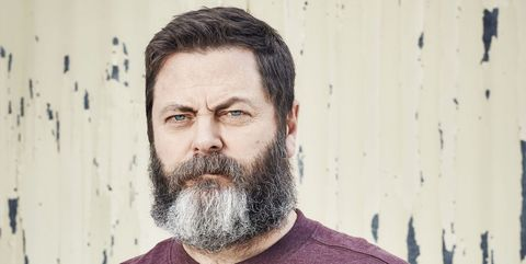 Nick Offerman Explains the Pleasures of Woodworking and Why He Won't Vote Trump