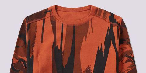 Brown, Sleeve, Textile, Collar, Orange, Amber, Sweater, Tan, Beige, Maroon,