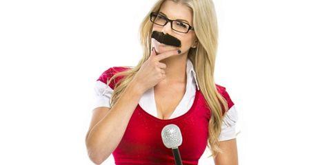 Eyewear, Glasses, Arm, Vision care, Lip, Finger, Sleeve, Human body, Shoulder, Elbow,