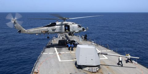 In Case You Missed It, U.S. Navy Ships Were Fired on Last Weekend