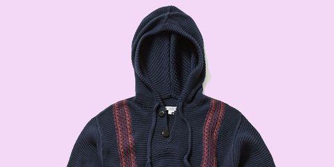 Textile, Pattern, Collar, Purple, Violet, Magenta, Hood, Woolen, Knit cap, Beanie,