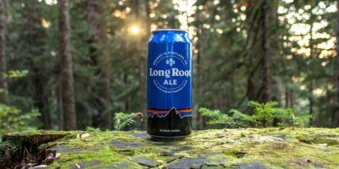Beverage can, Aluminum can, Tin can, Drink, Alcoholic beverage, Logo, Beer, Terrestrial plant, Distilled beverage, Majorelle blue,