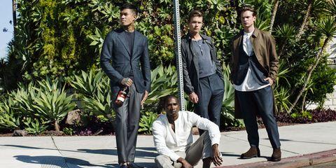 Clothing, Leg, Trousers, Collar, Coat, Textile, Shirt, Dress shirt, Outerwear, Style,