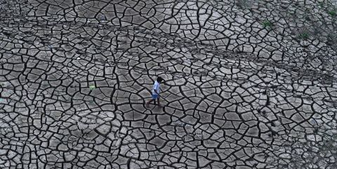 Road surface, Pattern, Grey, Concrete, Cobblestone, Drought, Shadow,