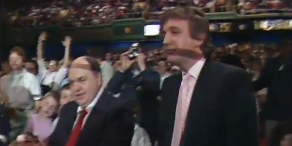 Here S Video Of Trump And An Alleged Mobster At Wrestlemania