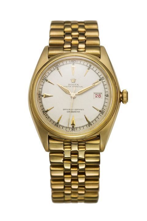 <p>Visual design elements can carry as much power over a watch as its technical inner workings. The Datejust was the first self-winding timepiece to feature the date in a window. Streamlined and simple, yet radiating elegance in the fluted bezel and specially designed Jubilee bracelet, this quickly became the dress watch of choice for many notable figures.</p>