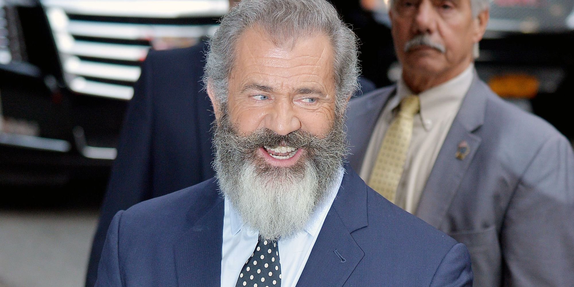 What the Hell is Going on With Mel Gibson's Beard?