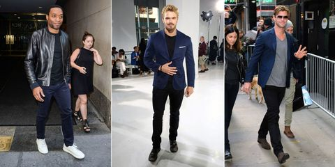 Clothing, Footwear, Leg, Trousers, Coat, Shirt, Textile, Outerwear, T-shirt, Style,