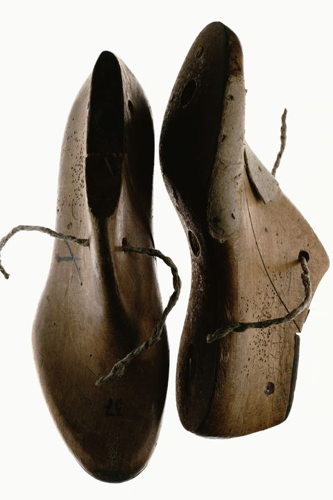 <p>A high quality men's shoe can only be made using a perfectly shaped last. This is a model of the foot made from wood that will give the shoe its shape. A good last will take into account the heel, instep, balls of the foot, and how the heel height will change based on the rolling motion of the foot. It's something that can't be achieved through machine manufacturing or computerized wizardry. Wooden lasts take into account the subtleties of the human foot, and the result is a far better and more comfortable shoe.  </p>