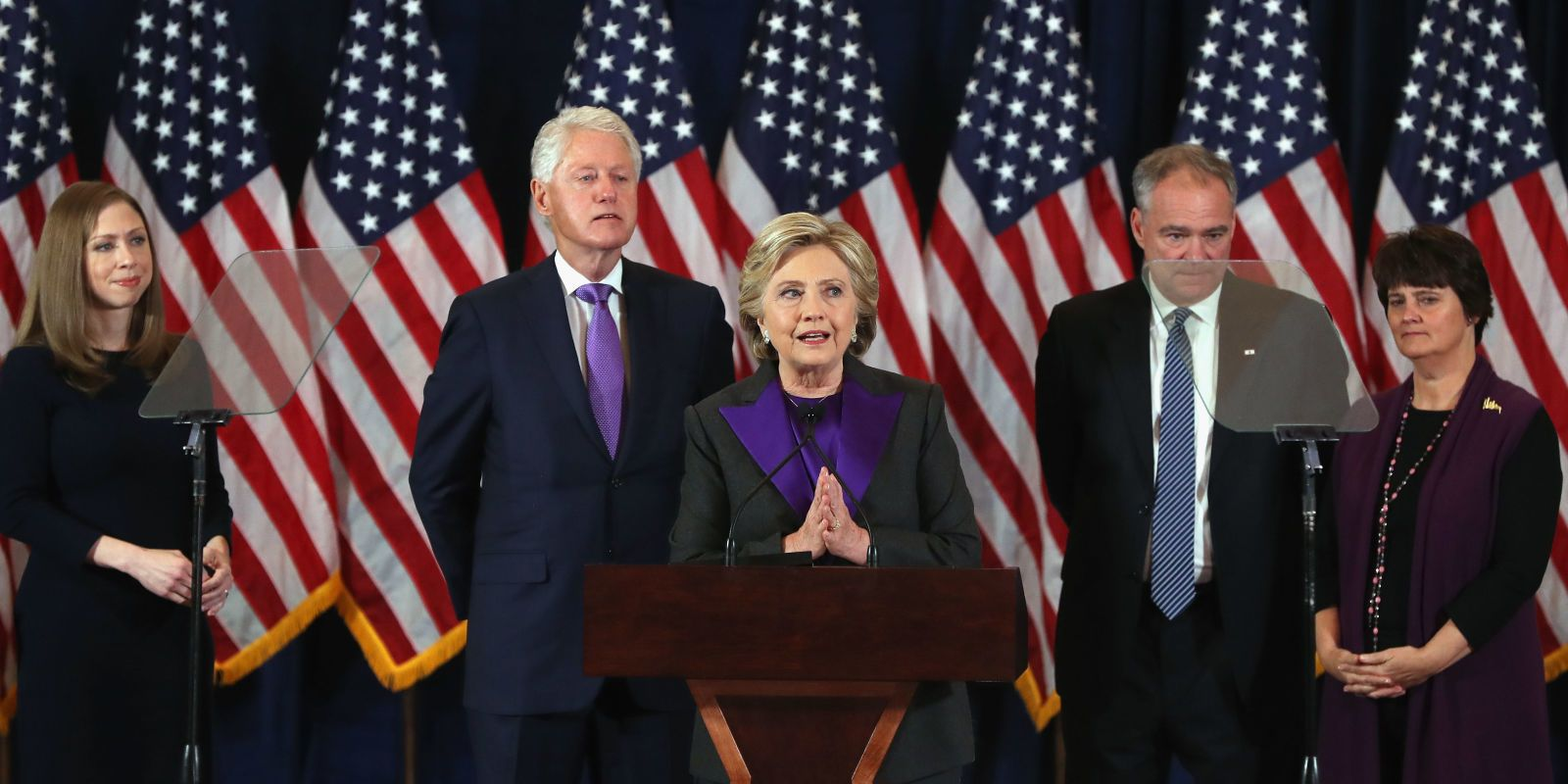 Hillary Clinton Delivered a Heartbreaking Concession Speech