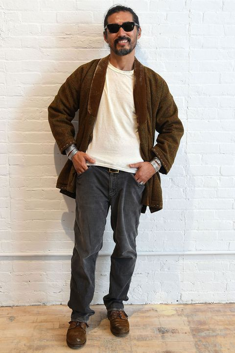 <p>At just a glance, you might not understand why Visvim, Hiroki Nakamura's label, has a cult following. But then you feel it, wear it, and something clicks. Blending old-school Americana with labor-<span>intensive Japanese artisanship, it's both traditional and technological. Like Nakamura's style, it's of the past and the future at once. </span></p><p></p>