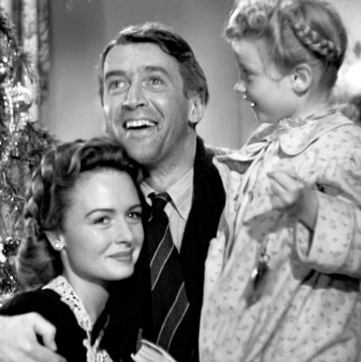 It's a Wonderful Life Few films define Christmas like Frank Capra's 1946 fantasy starring Jimmy Stewart as George Bailey, who, on the verge of committing suicide, is visited by an angel who shows him the true importance of his life. Make this one a year-round tradition.
