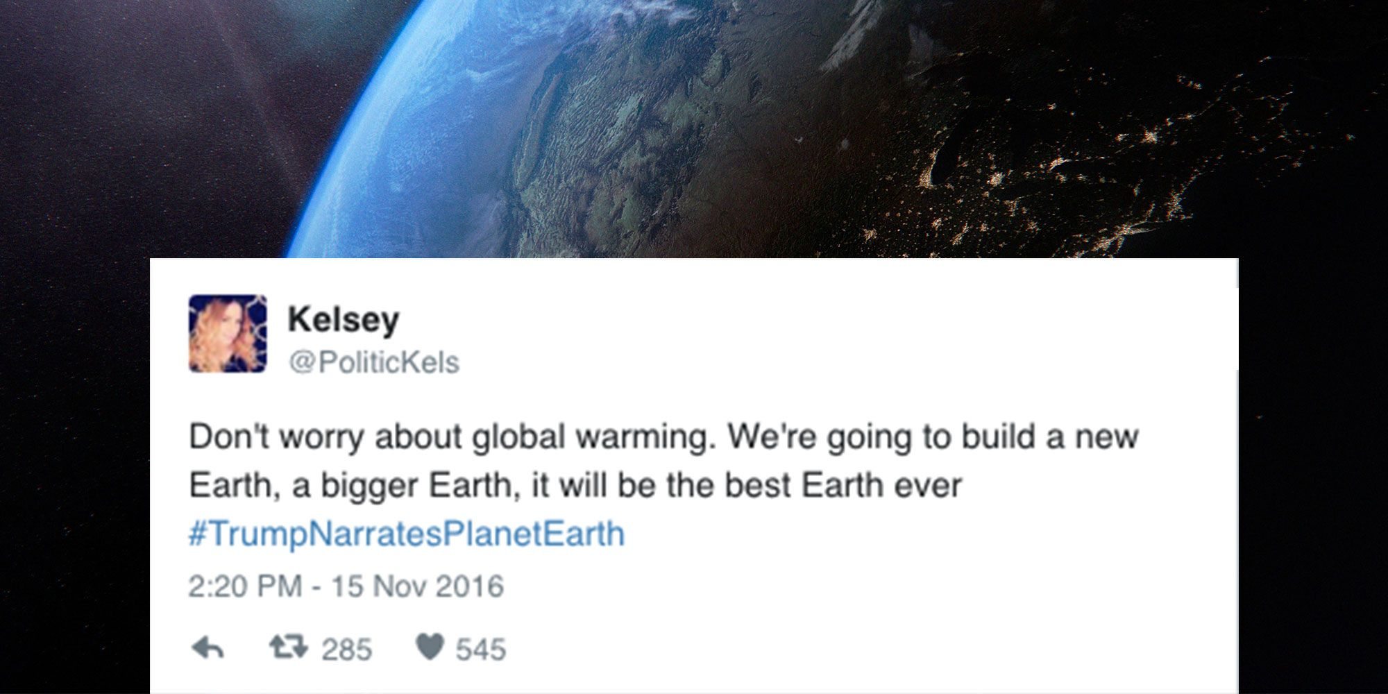 Here's What It Would Be Like If Trump Narrated Planet Earth