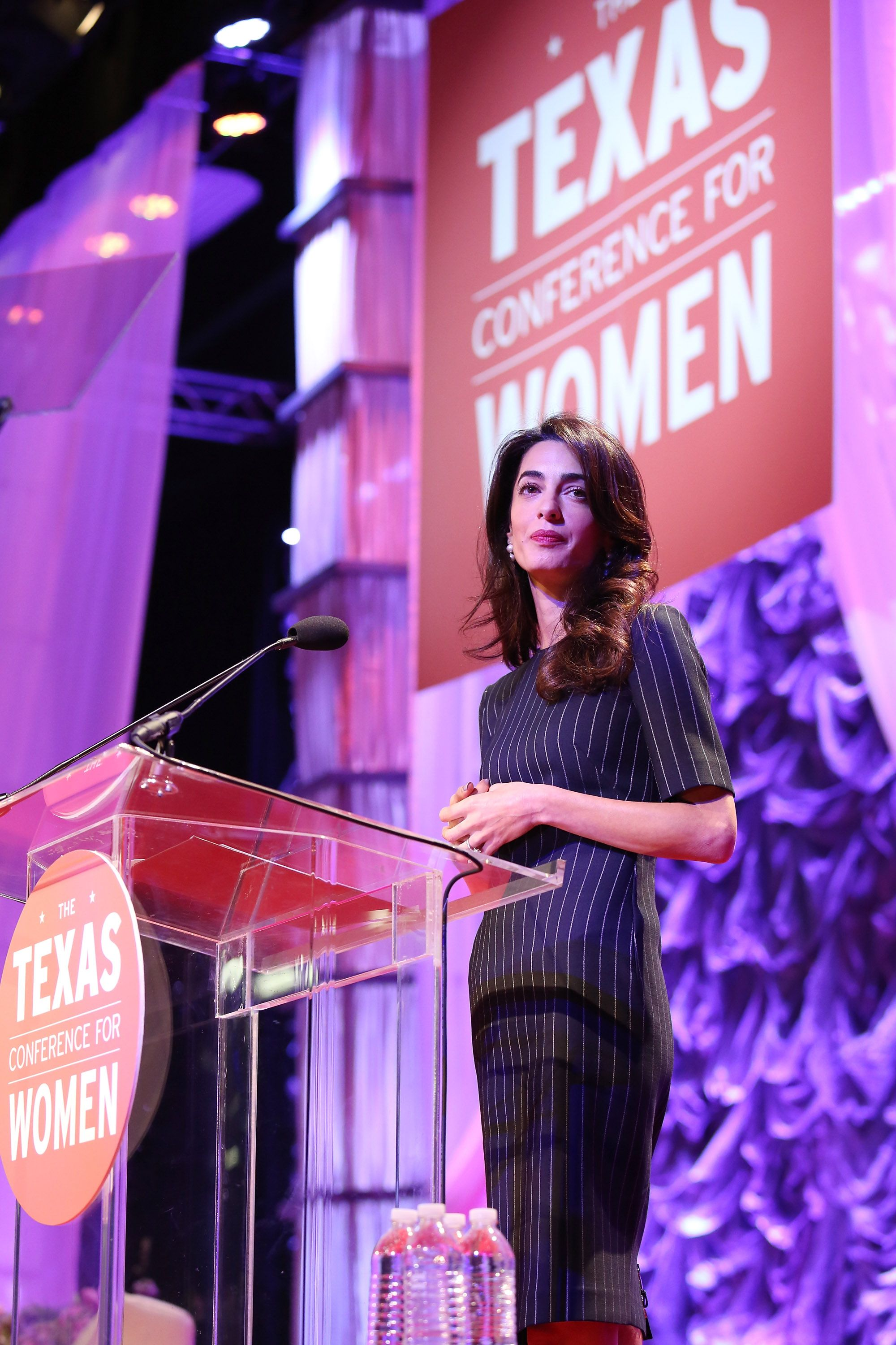 Amal Clooney Thinks Donald Trump's Ideas Could Cost America Its 'Moral Standing' Internationally