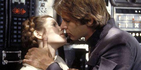 Nose, Ear, Lip, Cheek, Forehead, Kiss, Interaction, Romance, Love, Gesture,