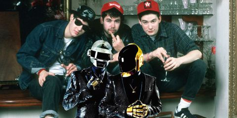 Beastie Boys Rapping Over Daft Punk Is the Greatest Collaboration That Never Was