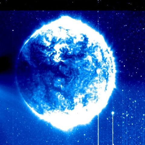 Nope, That Weird Blue Sphere In Space Isn't Aliens