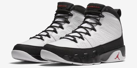 646c554fa4ca The lesser-known star of the WB classic Space Jam is this pair of Jordan 9s  that Michael Jordan sends Bugs Bunny and Daffy Duck to pick up from his  house ...