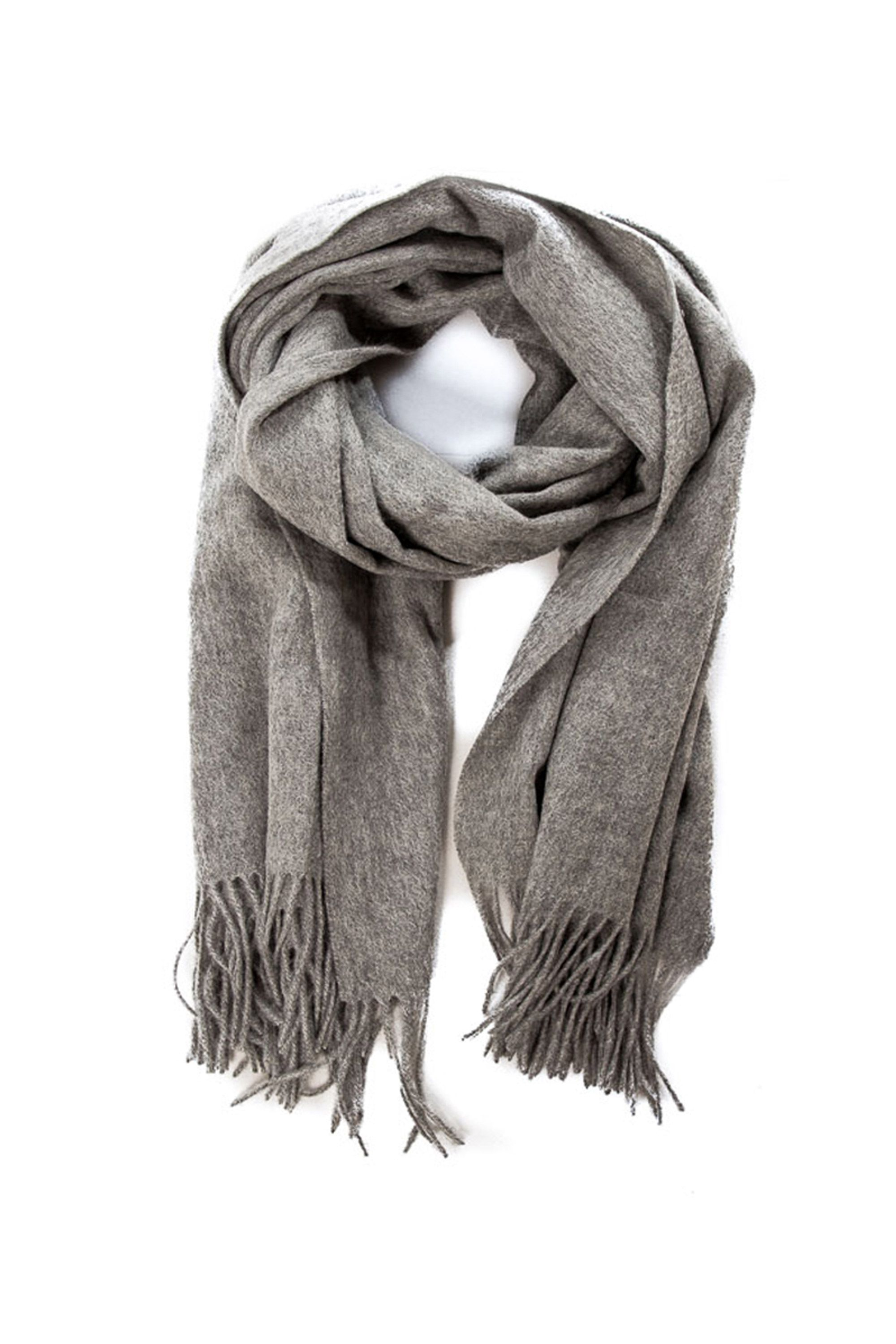 "<p>As House Stark always reminds us, winter is coming, and with it those blustery gales that inevitably set her teeth a-chatter. Enter this long, luxurious wool scarf. Don't be surprised if it doesn't leave her neck until spring. </p>  <p><i data-redactor-tag=""i"">$95, </i><a href=""http://www.drdenimjeans.com/us/charlie-scarf-grey-mix""><i data-redactor-tag=""i"">drdenimjeans.com</i></a></p>"