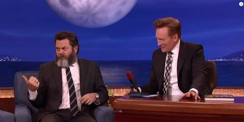 We Need to Know More About Nick Offerman's Homoerotic Chris Pratt Comic Strip