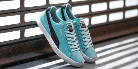 Footwear, Blue, Green, Shoe, Teal, White, Aqua, Turquoise, Athletic shoe, Azure,