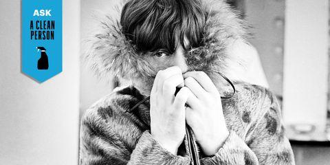 Style, Fur clothing, Jacket, Animal product, Natural material, Street fashion, Fur, Photographer, Nail, Parka,