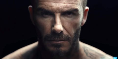 David Beckham Strips Down in a New Video for a Good Cause
