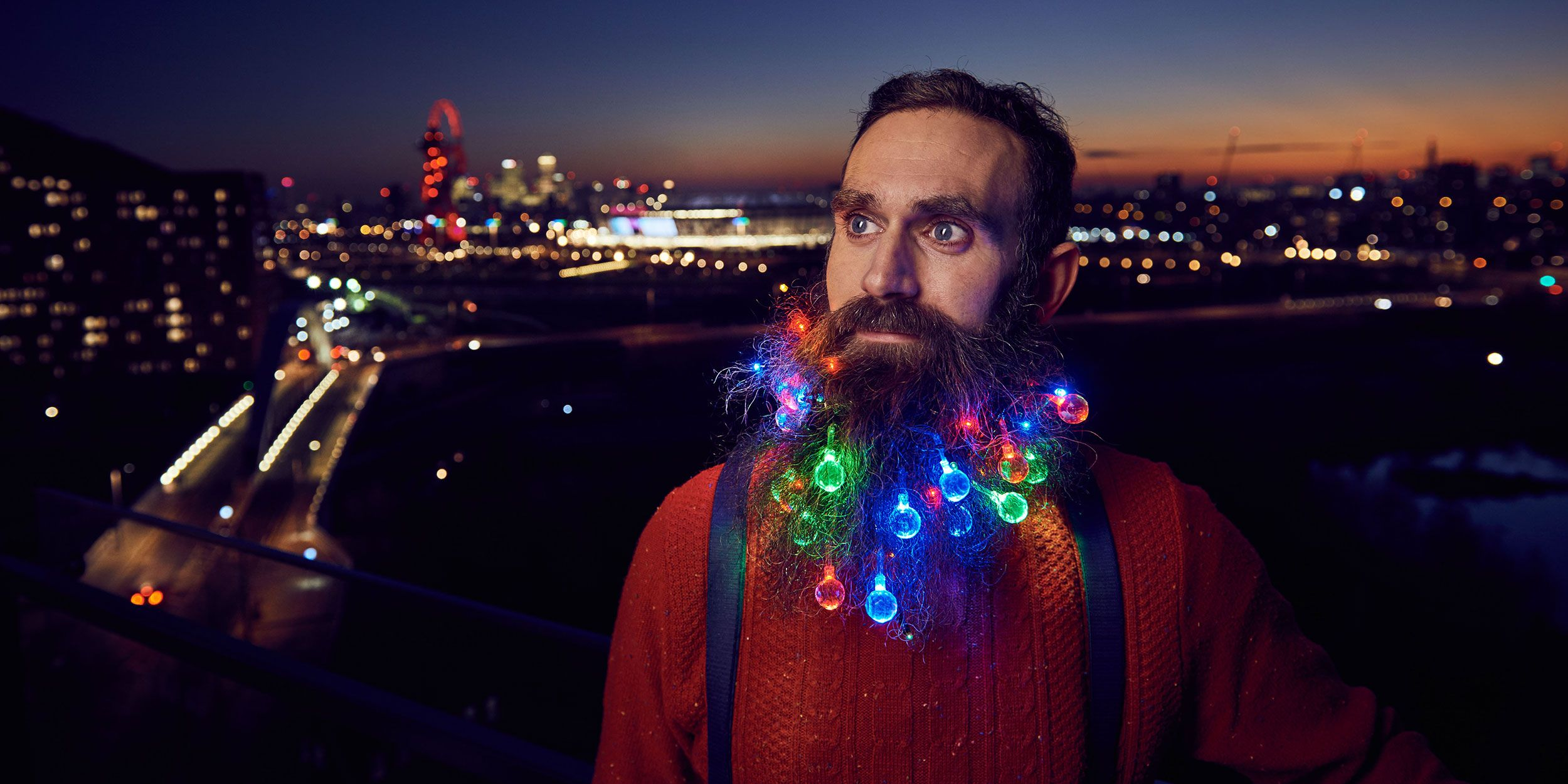 Please Don't Put Christmas Lights in Your Beard