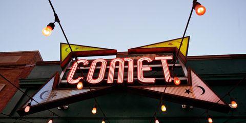 Comet pizza