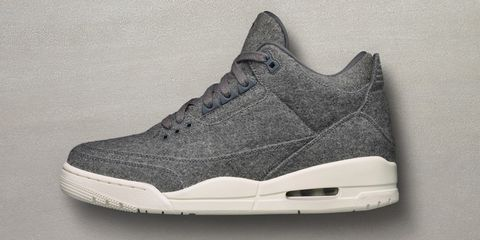 b9dba0d8f78 Blending menswear trends with sneaker history, Air Jordan's woolen 3s are a  surprising entry this year. Sure, wool on sneakers is trending, but the  Jordan 3 ...