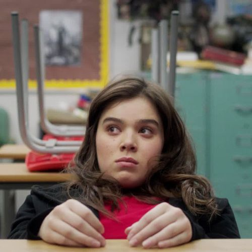 The Edge of Seventeen Hailee Steinfeld stars as an emotional teenage girl who is just trying to get through high school—a task made even more complicated when her best friend starts dating her older brother.