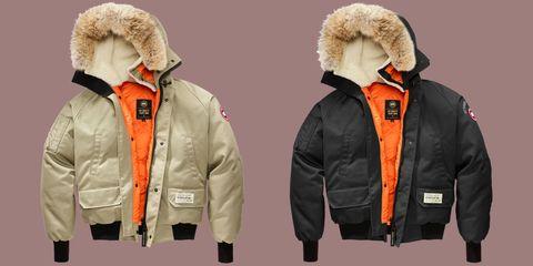 Jacket, Sleeve, Textile, Outerwear, Collar, Orange, Parka, Hood, Fashion, Fur clothing,